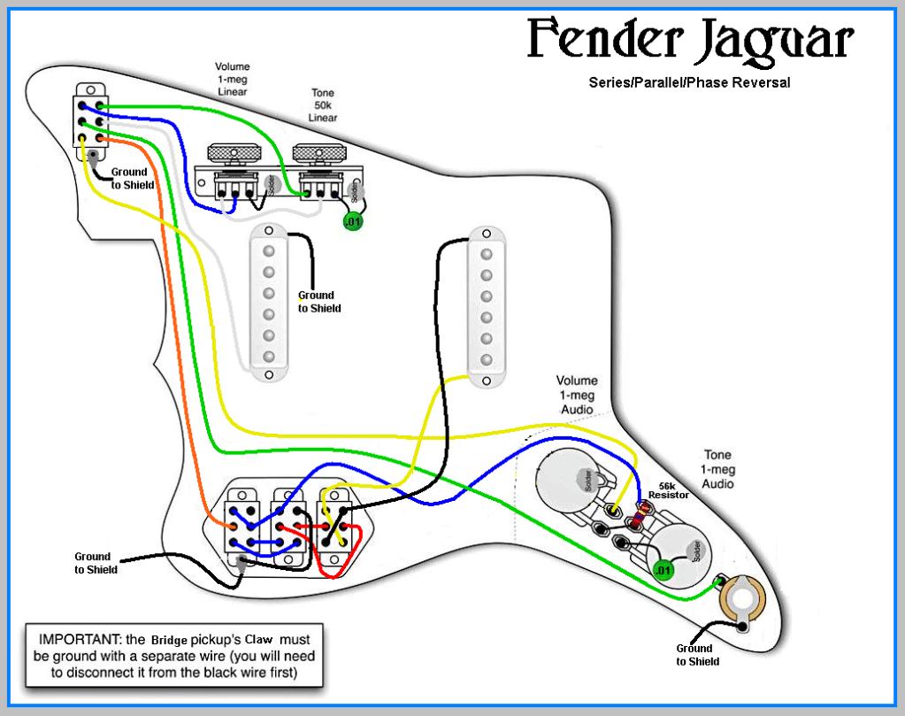Remarkable Wiring Diagram For Fender Jaguar Guitar Wiring Diagram Wiring Cloud Apomsimijknierdonabenoleattemohammedshrineorg