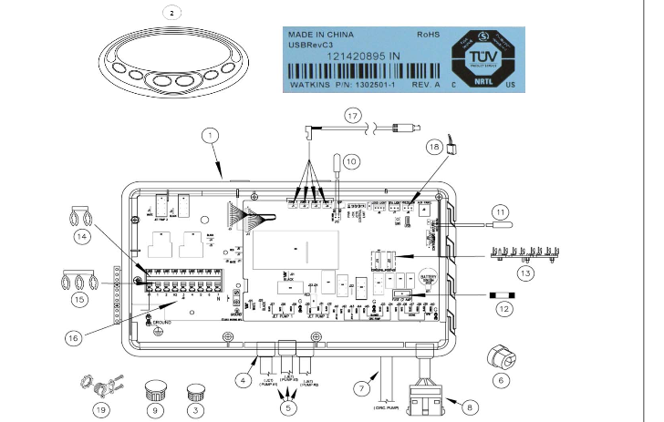 Ey 2594 Caldera Tahitian Spa Wire Diagram Download Diagram