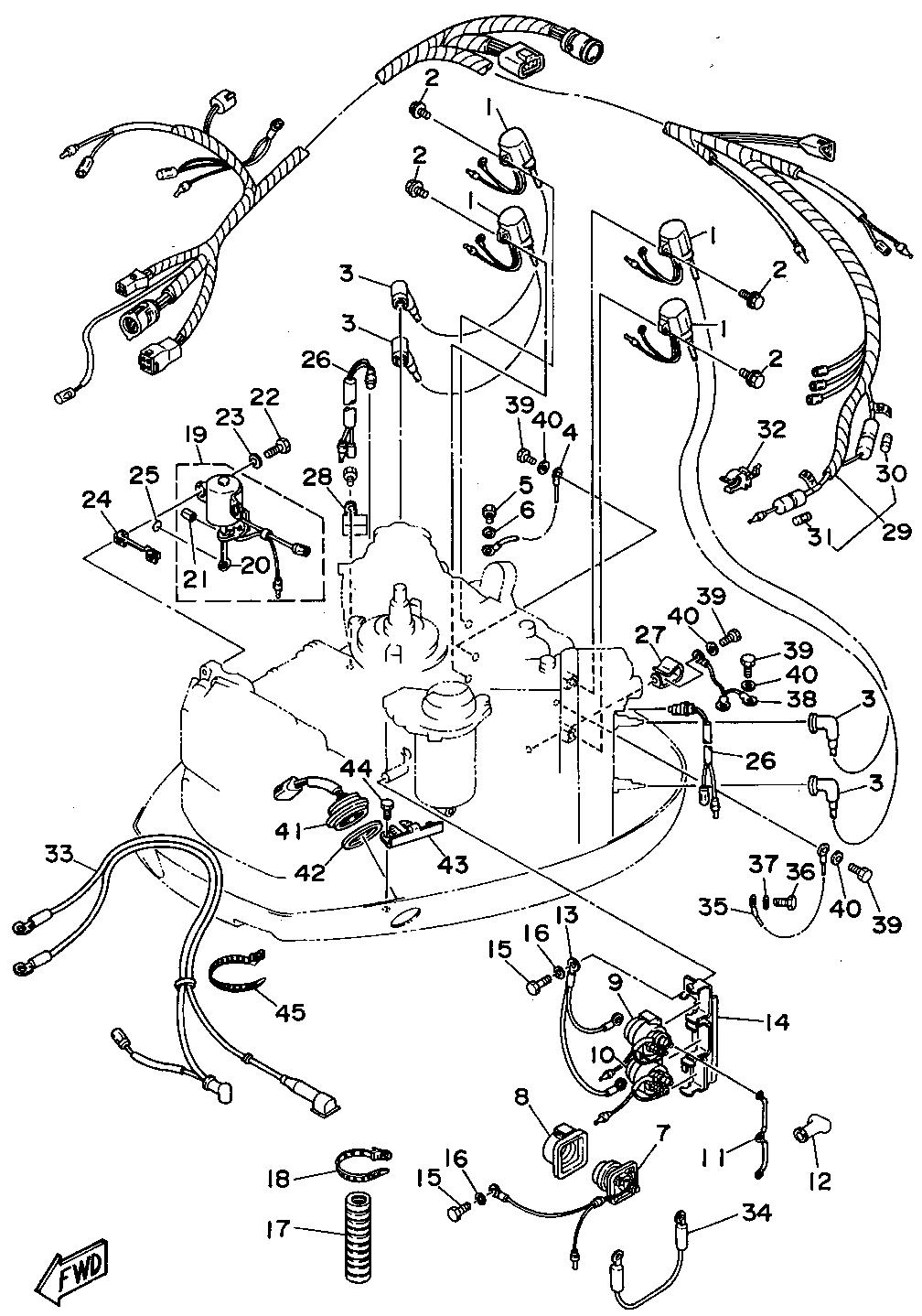 Yamaha 115 4 Stroke Wiring Diagram