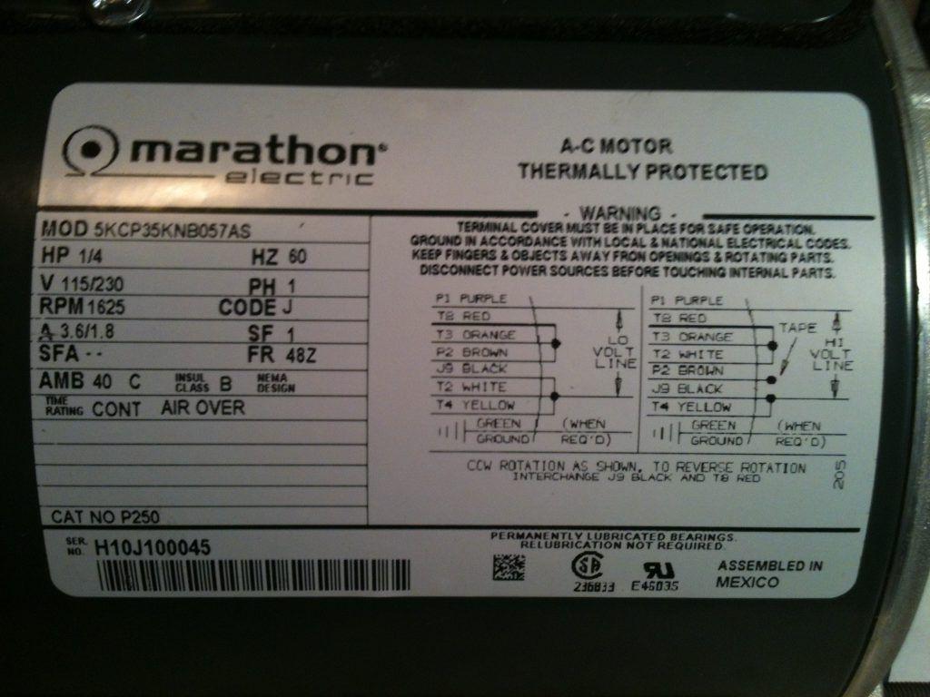 Wf 0018 Marathon Motor Wiring Diagram Elec Wiring Diagram