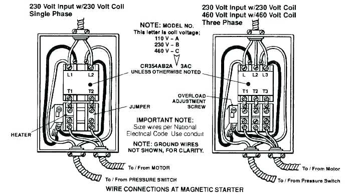 240 Volt Wiring Diagram Air Compressor