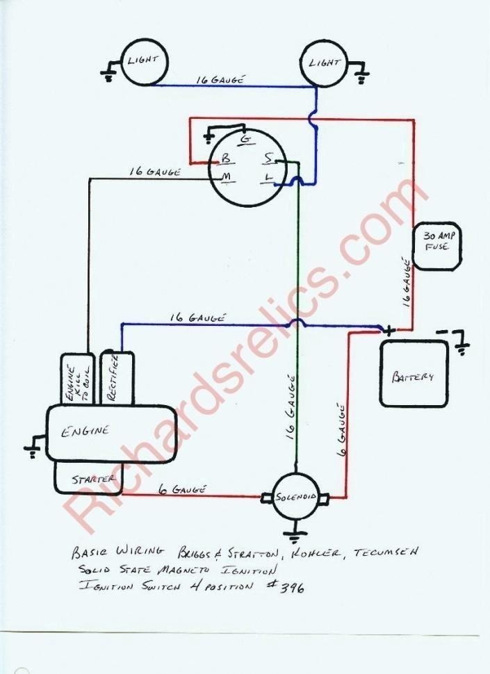 briggs and stratton key switch wiring diagram an 4517  briggs and stratton ignition switch wiring diagram wiring  ignition switch wiring diagram wiring