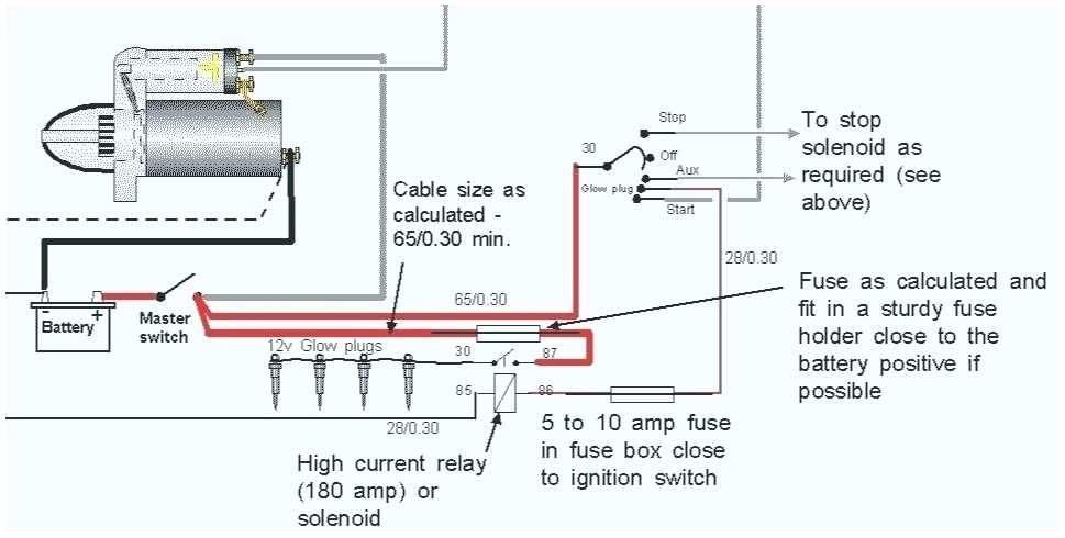 Kubota Glow Plug Wiring Diagram Collection