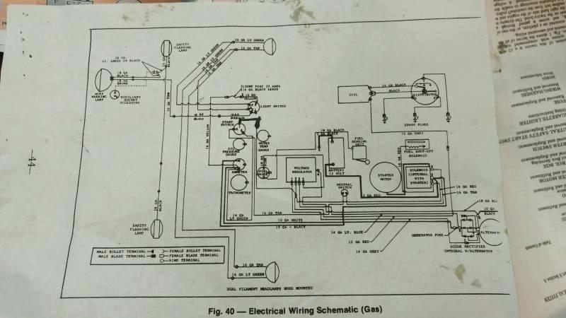 Wh 3102 Mf40 Tractor Ignition Switch Wiring Diagram Wiring Diagram