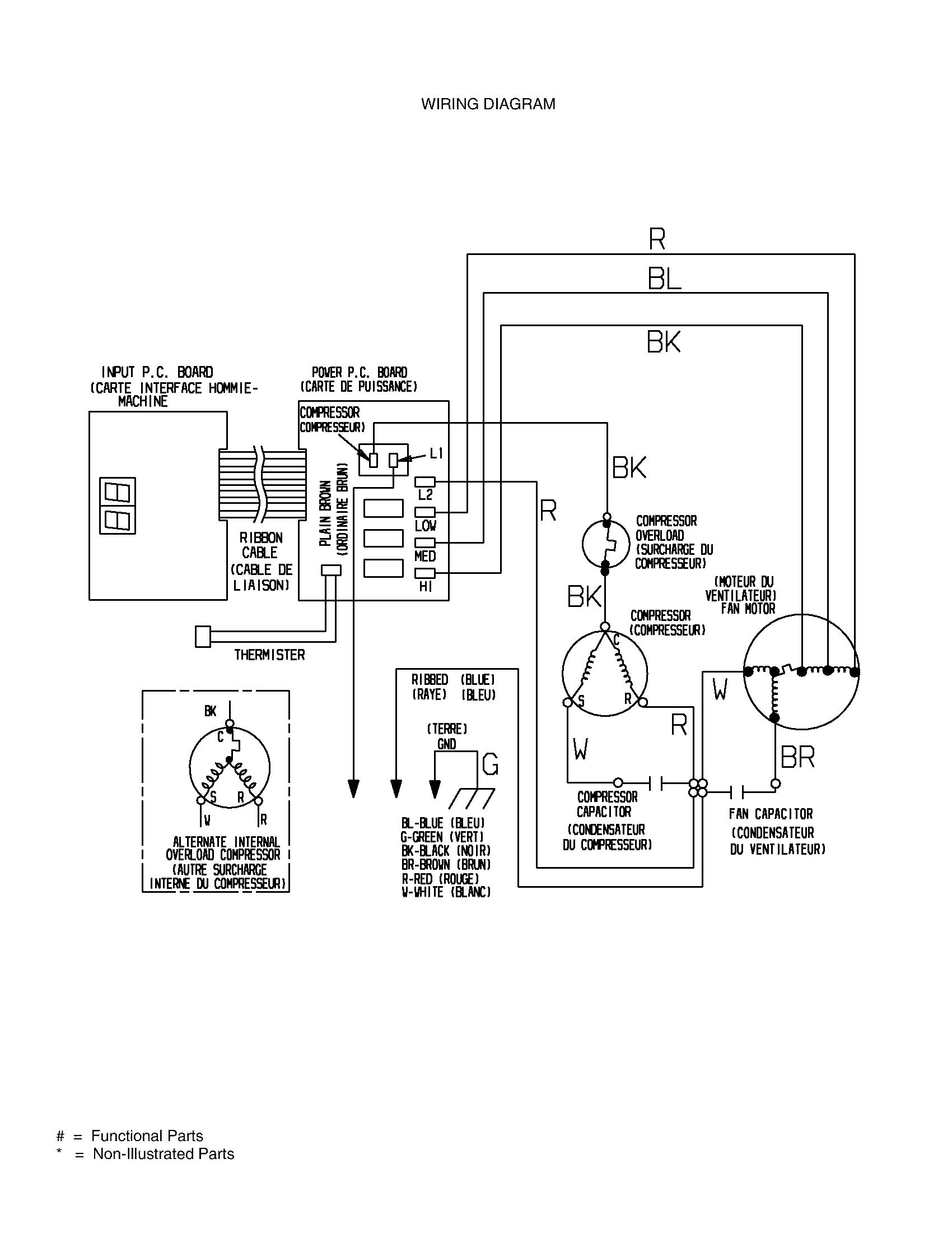 trane condensing unit wiring schematic zw 1350  wiring ac parts  zw 1350  wiring ac parts