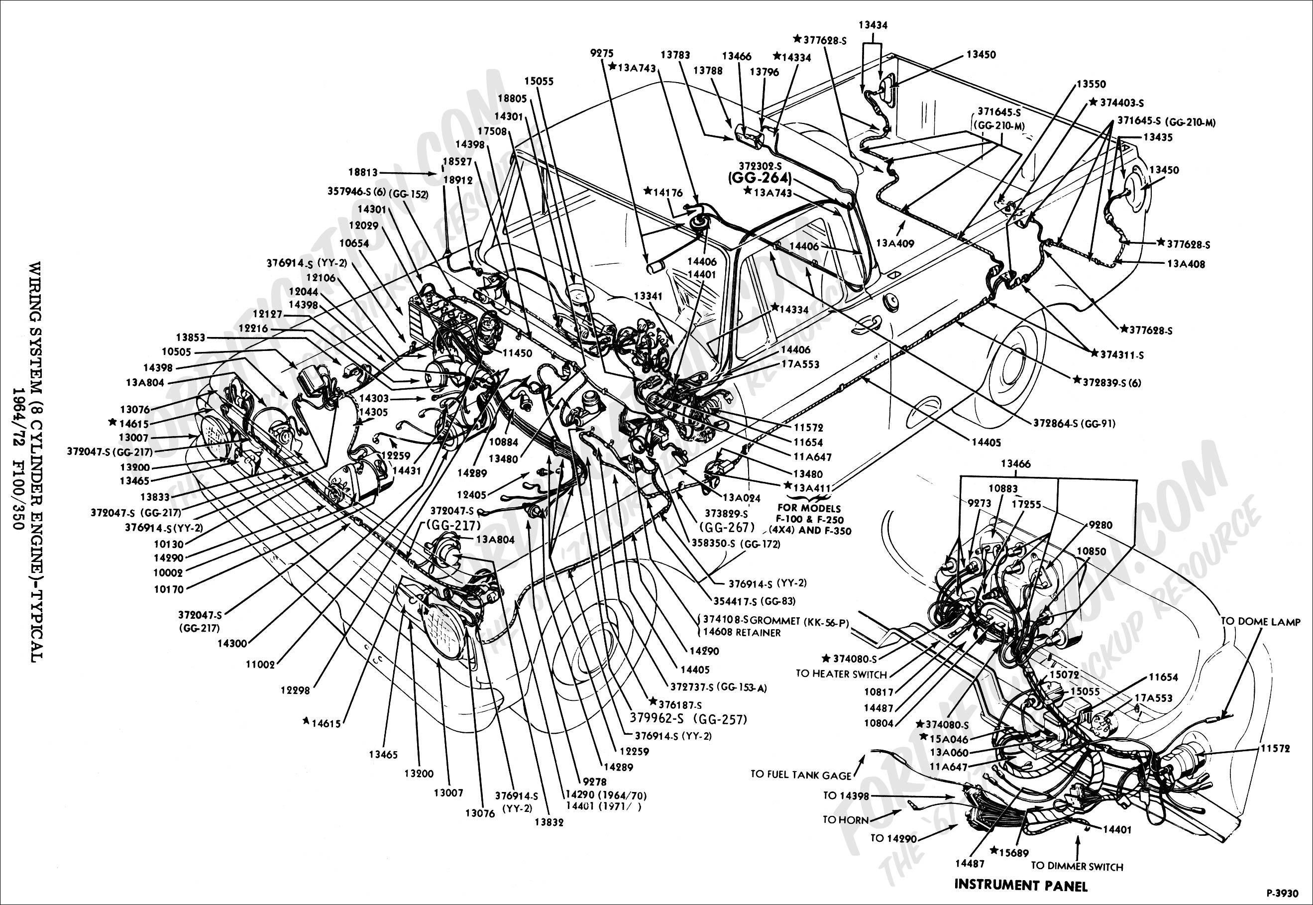 Terrific Ford Pickup Wiring Diagrams Basic Electronics Wiring Diagram Wiring Cloud Picalendutblikvittorg