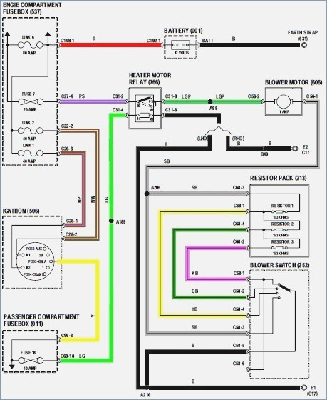 Radio Wiring Diagram For 2000 Dodge Ram 1500