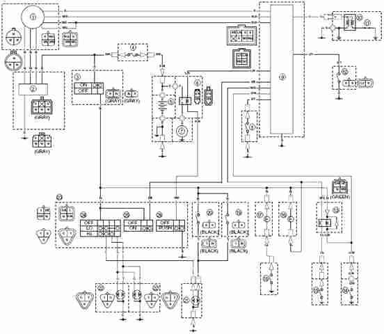 ha3048 yamaha blaster wire diagram schematic wiring