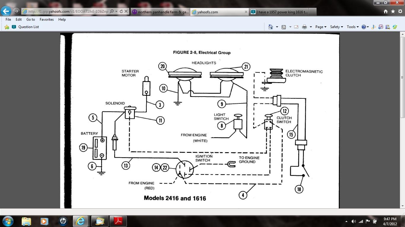 [DIAGRAM_3US]  GG_1600] 1971 Power King 1614 Tractor Wiring Diagram Free Diagram   Power King Economy Tractor Wiring Diagram      Icaen Denli Benkeme Mohammedshrine Librar Wiring 101