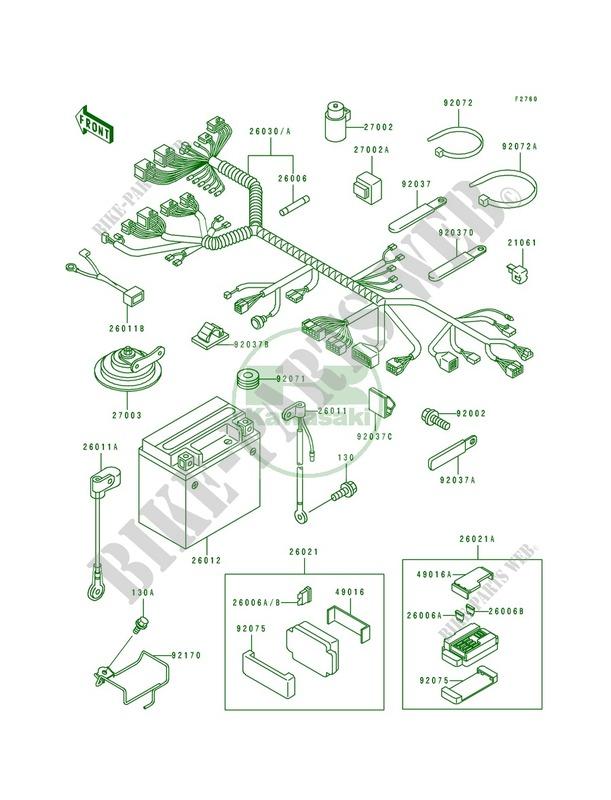 Ninja Zx750r Wiring Diagram