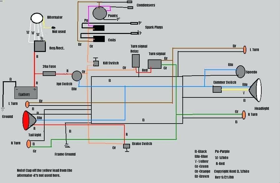 Eh 6581 1971 Honda Ct 70 Wiring Diagram Images Free Diagram