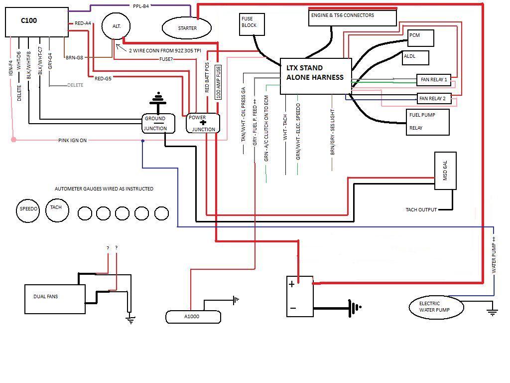 Mefi 4 Wiring Harness Diagram Ls1 1998 F 250 Fuse Box Diagram