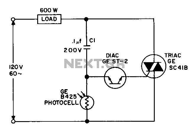 diagram wiring a photocell in a circuit easy steps wiring