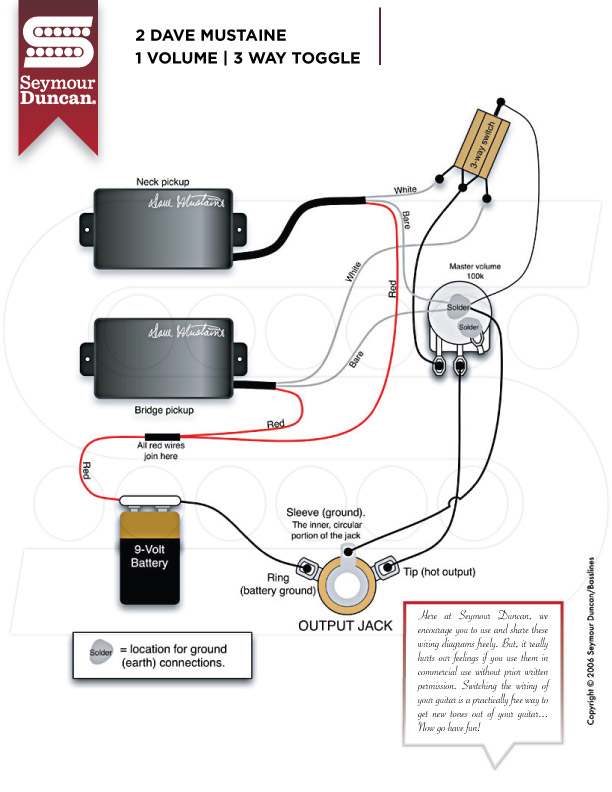 Seymore Duncan Wiring Black Out