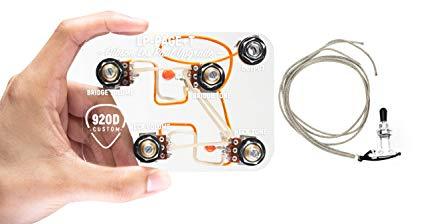 Terrific Amazon Com 920D Custom Shop Les Paul Jimmy Page Wiring Harness W Wiring Cloud Staixaidewilluminateatxorg