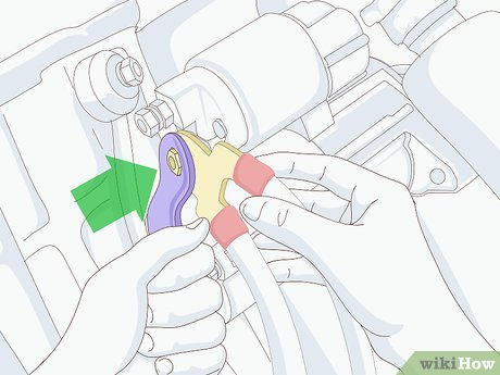 Fabulous How To Install A Car Starter 14 Steps With Pictures Wikihow Wiring Cloud Grayisramohammedshrineorg