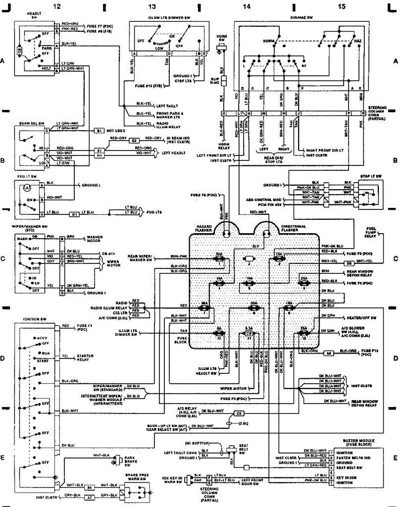 2000 Jeep Wrangler Wiring Harness Diagram - Wiring Loom Harness Clip Wiring  for Wiring Diagram SchematicsWiring Diagram and Schematics