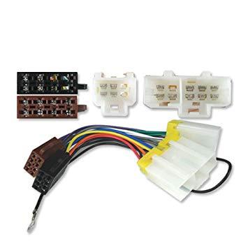Remarkable Iso Stereo Adaptor Wiring Lead Nissan Micra 83 00 Amazon Co Uk Wiring Cloud Xortanetembamohammedshrineorg