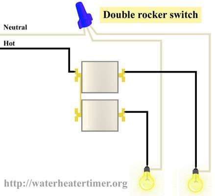 Stupendous Double Switch Wiring Diagram General Wiring Diagram Data Wiring Cloud Vieworaidewilluminateatxorg