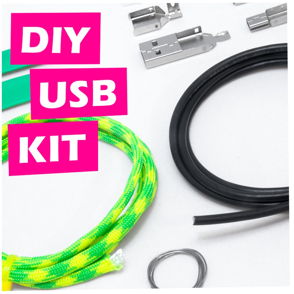 Outstanding Diy Usb Cable Kit Zap Cables Wiring Cloud Mousmenurrecoveryedborg