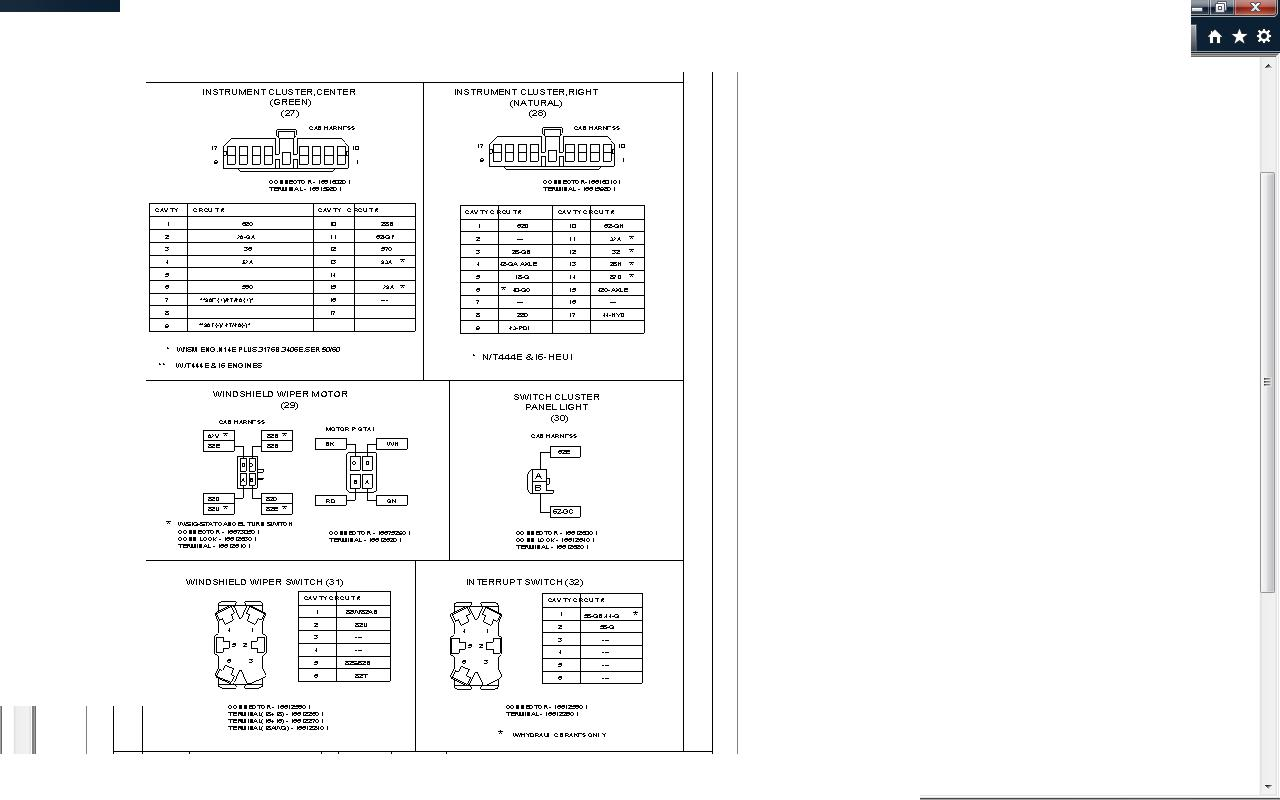 2006 Kenworth W900 Wiring Diagrams