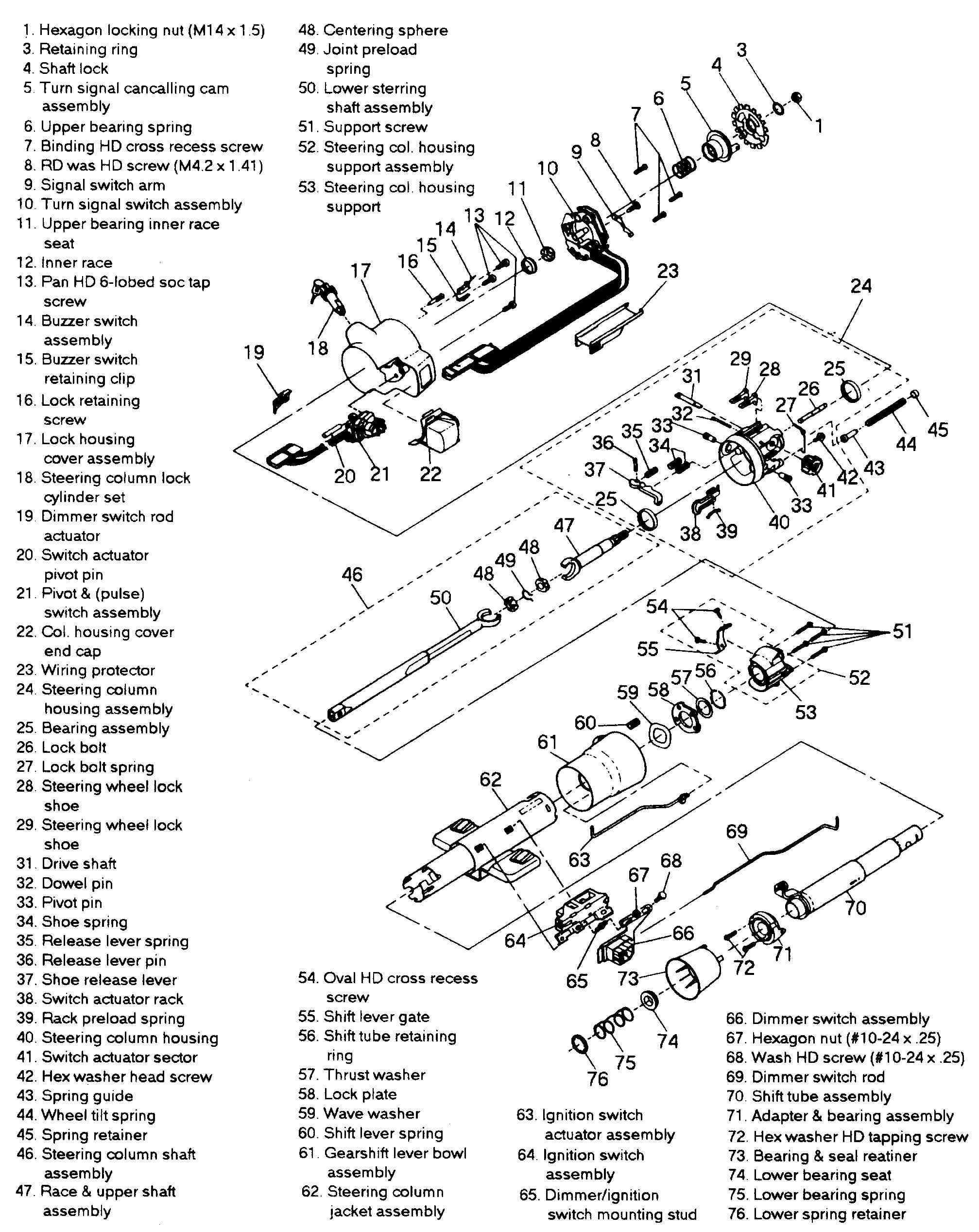 chevrolet steering column wiring diagram sm 6337  steering column wiring diagram moreover 1988 chevy truck  steering column wiring diagram moreover