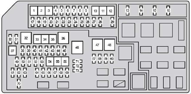 Zg 2323 2006 Toyota Land Cruiser Fuse Box Diagram Download Diagram