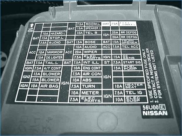 Nv 6474 1991 Nissan 240sx Interior Fuse Diagram Wiring Diagram