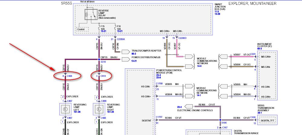 f250 rear view camera wiring diagram al 5101  ford reverse camera wiring diagram free diagram  ford reverse camera wiring diagram free
