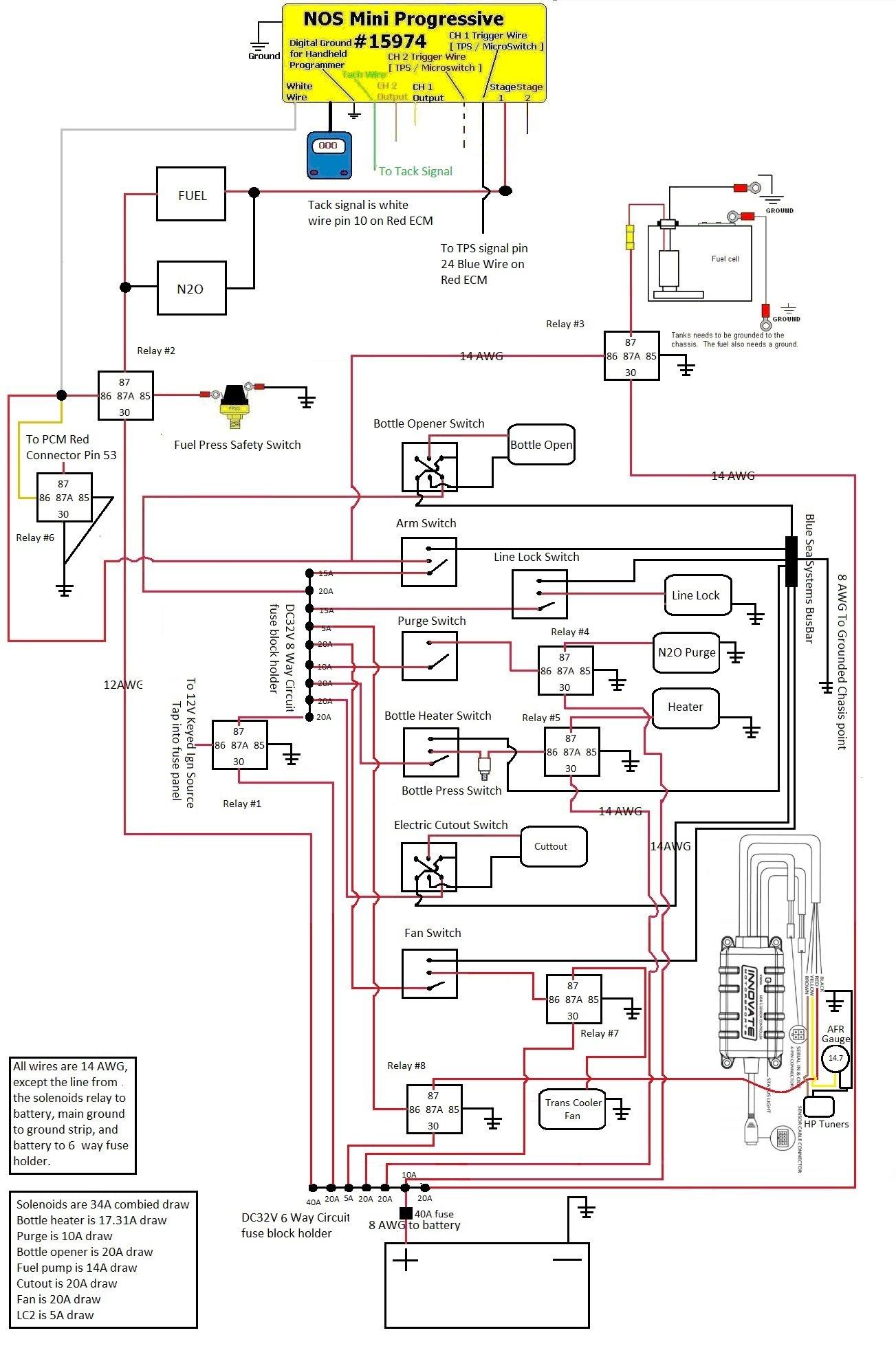 Progresser Nitrous Wiring Diagram For To 6 Volt Golf Cart Wiring Diagram For Wiring Diagram Schematics
