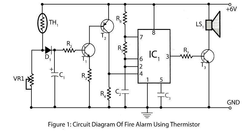 Miraculous Fire Alarm Using Thermistor Electronics Project Wiring Cloud Histehirlexornumapkesianilluminateatxorg