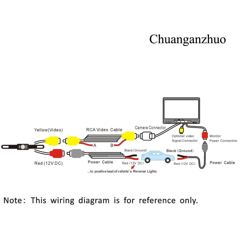 Mc 6438 Reversing Camera Monitor Tft Lcd Wiring Diagram