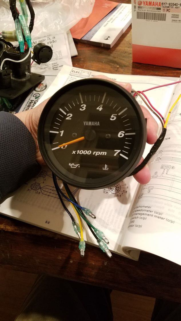 Tc 7366  Electric Speedometer With Odometer Wiring