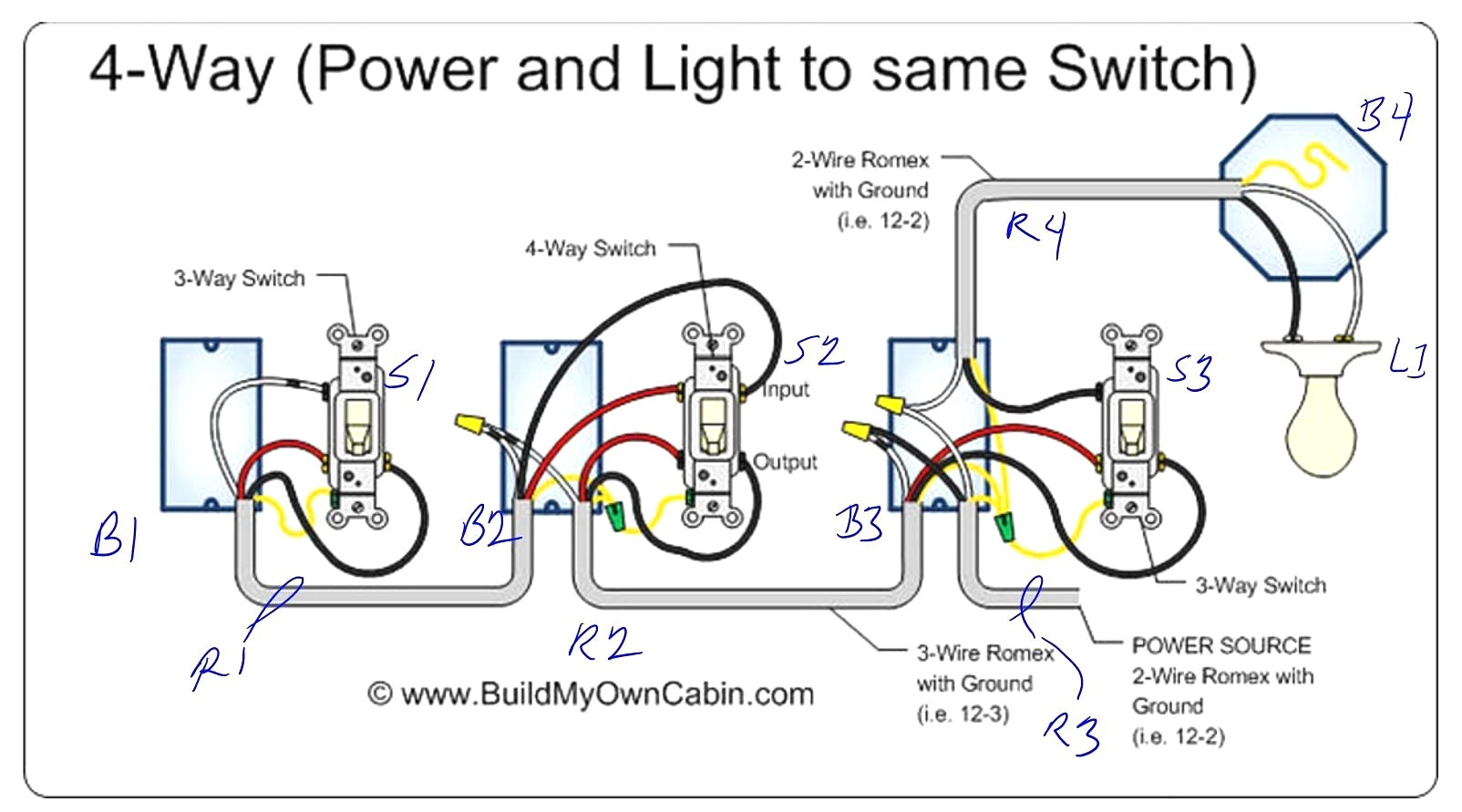 Tremendous Wrg 4272 How To Wire A 4 Way Light Switch Diagram Wiring Cloud Icalpermsplehendilmohammedshrineorg