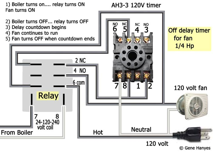 Awesome How To Wire Off Delay Timer Wiring Cloud Mousmenurrecoveryedborg