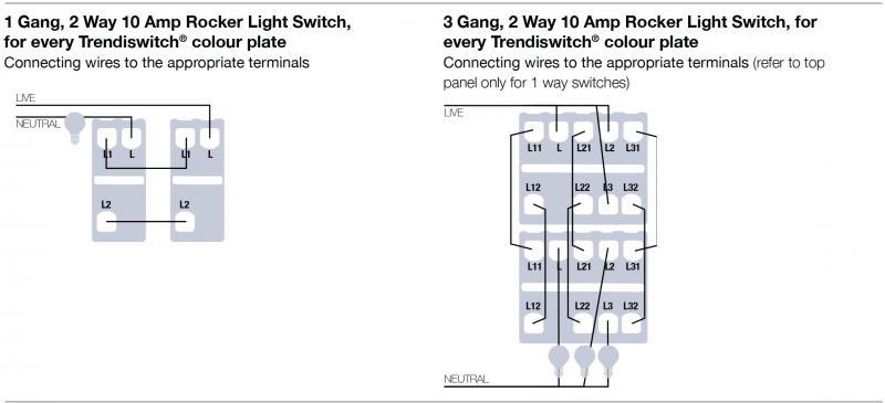 Mk 3 Gang Switch Wiring Diagram