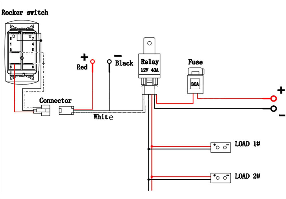 HO_2373] 5 Pin Relay Wiring Diagram For Lights Download Diagram
