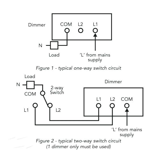 zr7921 way dimmer switch wiring diagram two way light