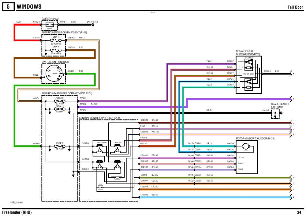 Wiring Diagram Freelander