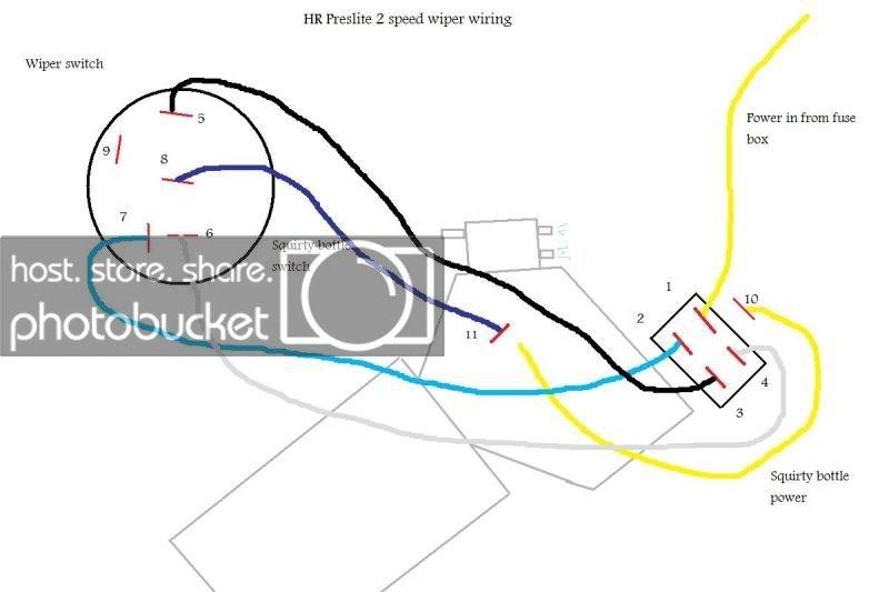 Cb 6238 2 Speed Wiper Wiring Diagram Schematic Wiring