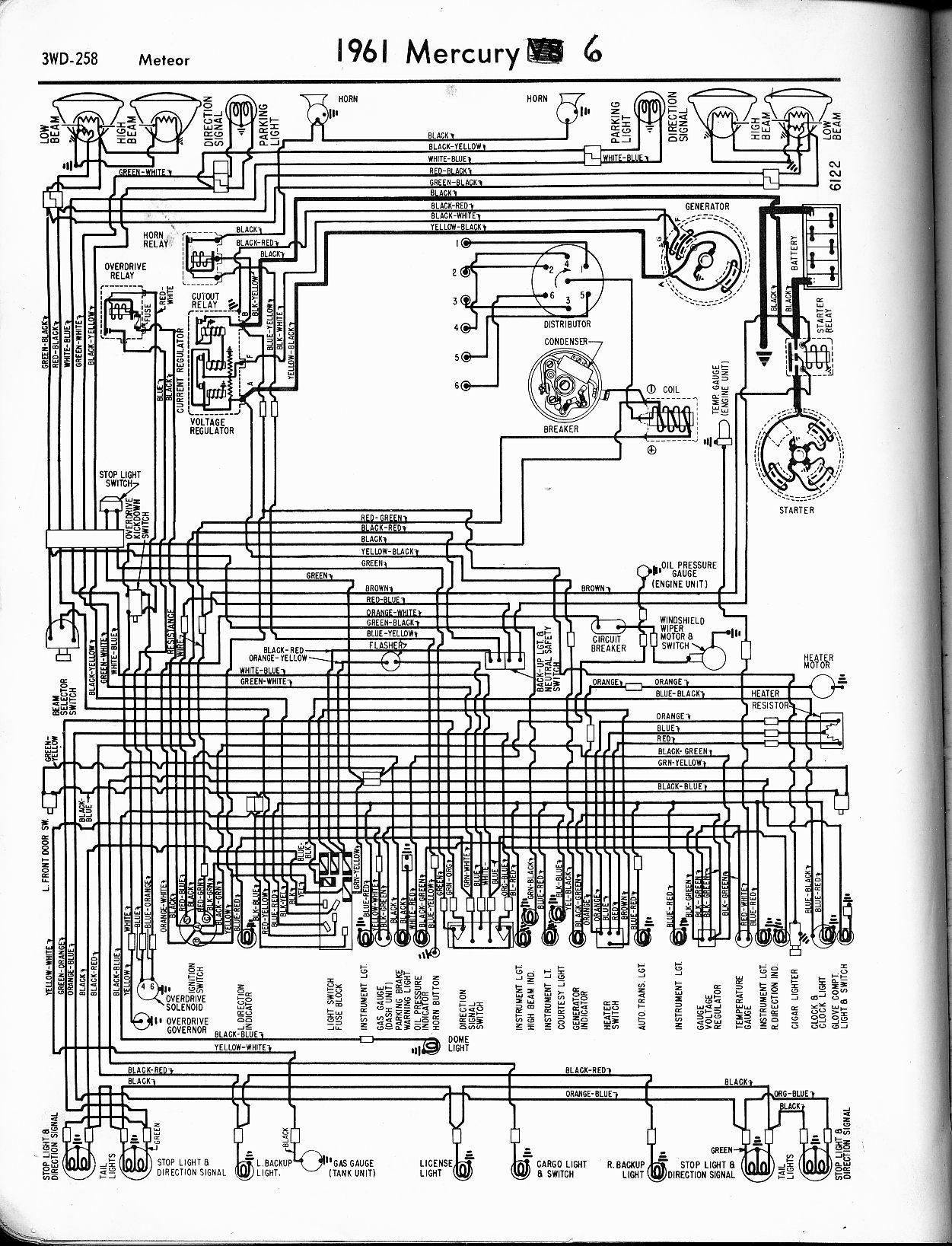 Rl 4050 1954 Mercury Monterey Wiring Diagram Free Diagram