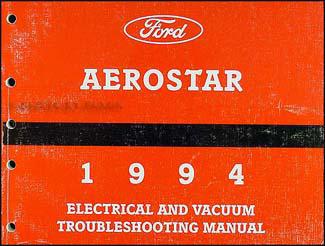 Xr 1732 1994 Ford Aerostar Parts Diagram Schematic Wiring