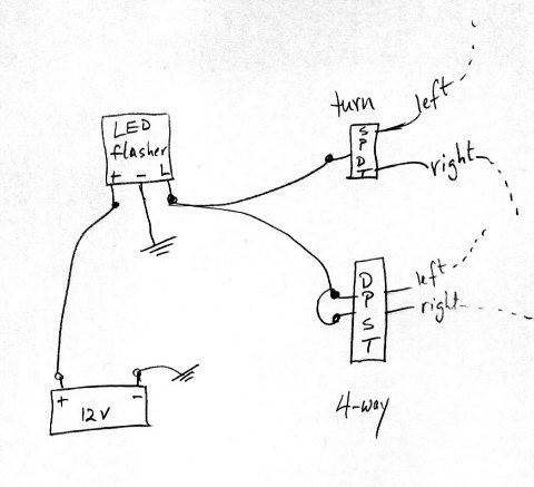 as1598 motorcycle turn signal motorcycle turn signal