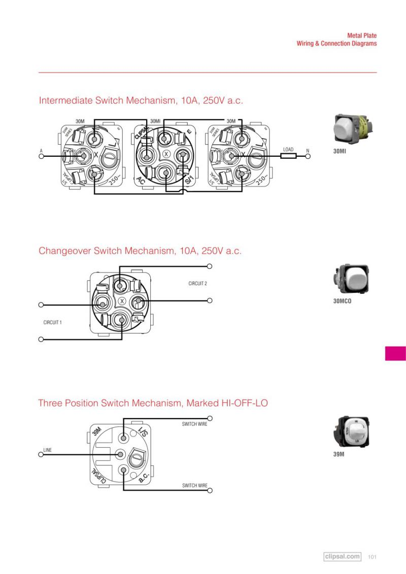 Clipsal Light Socket Wiring Diagram Australia