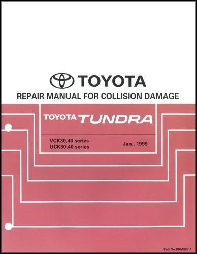 2009 Toyota TUNDRA Electrical WIRING Diagram Manual EWD Factory 09