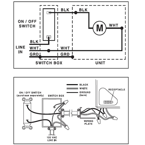 ceiling fan heater wiring diagram cr 3297  ceiling fan capacitor wiring diagram together with broan  ceiling fan capacitor wiring diagram