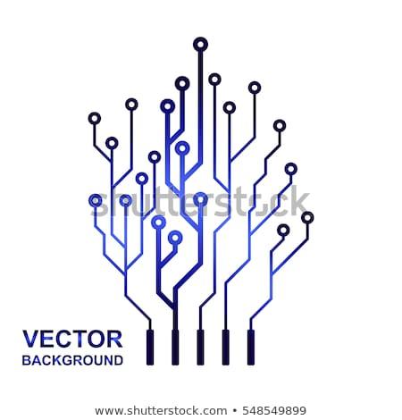 Astonishing Vector Icon Logo Printed Circuit Board Stock Vector Royalty Free Wiring Cloud Waroletkolfr09Org