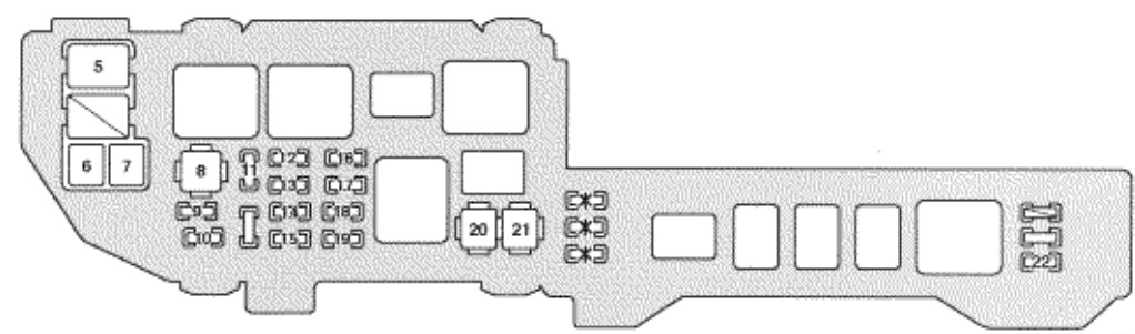 Terrific Lexus Es300 Fuse Box Diagram Wiring Diagram Database Wiring Cloud Cranvenetmohammedshrineorg