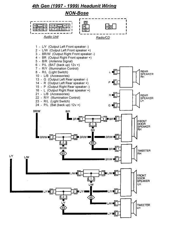 1999 Nissan Pathfinder Stereo Wiring Diagram Meyer Plow