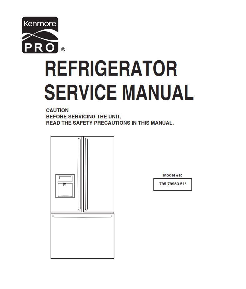 Kenmore Elite Refrigerator Compressor Wiring Diagram - Wiring Diagrams
